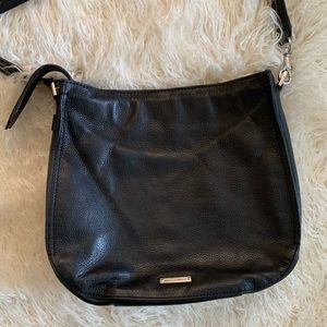Rebecca Minkoff Small Black Leather Shoulder Bag